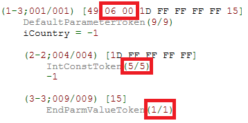 UEE 'Decompiled Tokens View' Default Parameter Token example 1