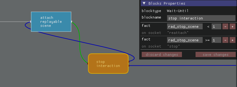 interaction graphblock with loop