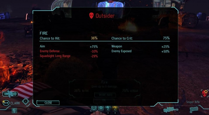 XCOM Developer Shell Initial Screen
